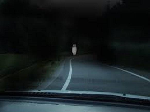 白い女の幽霊