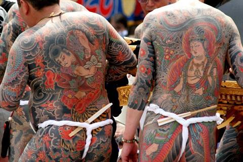 ヤクザ 刺青1