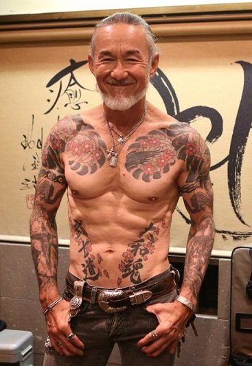 ヤクザ 刺青10