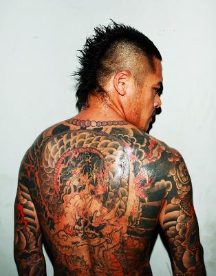 ヤクザ 刺青7